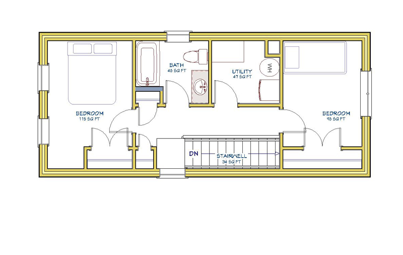 16x36-2Bed-2Level-2