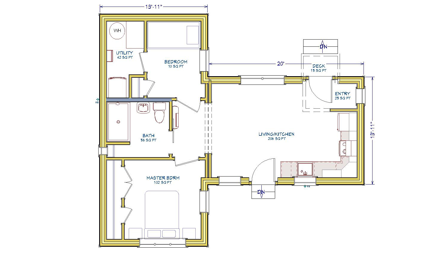 1Bed-Itsy-Plan