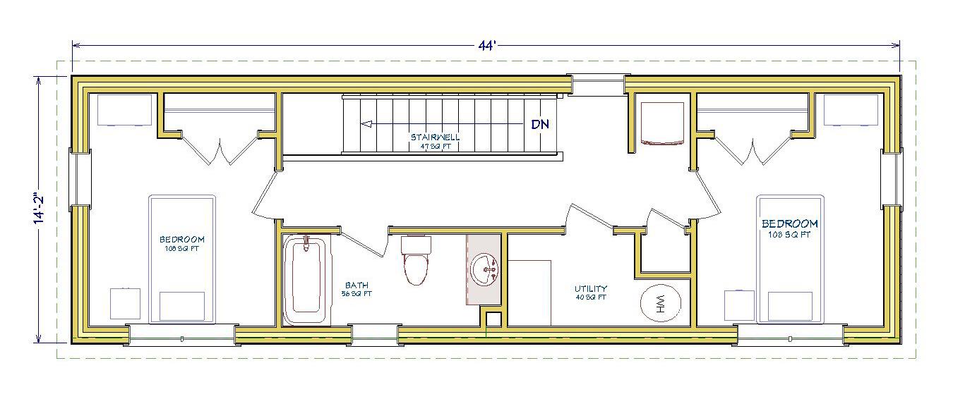 3Bed-Spaulding-2nd-Floor-Plan